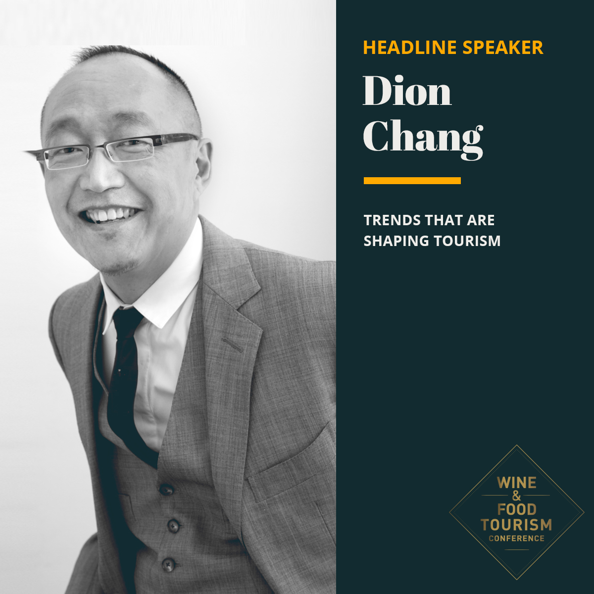 Dion Chang Wine & Food Tourism Conference Event
